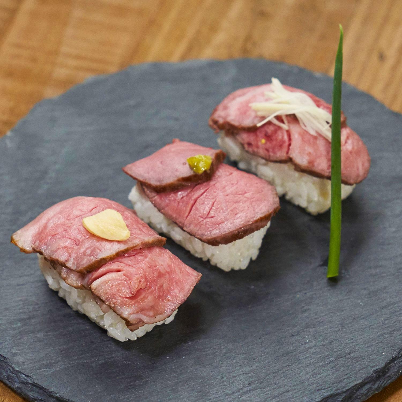 おうちで贅沢気分!ローストビーフお寿司